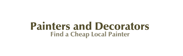 Cheap Painter And Decorator Uk